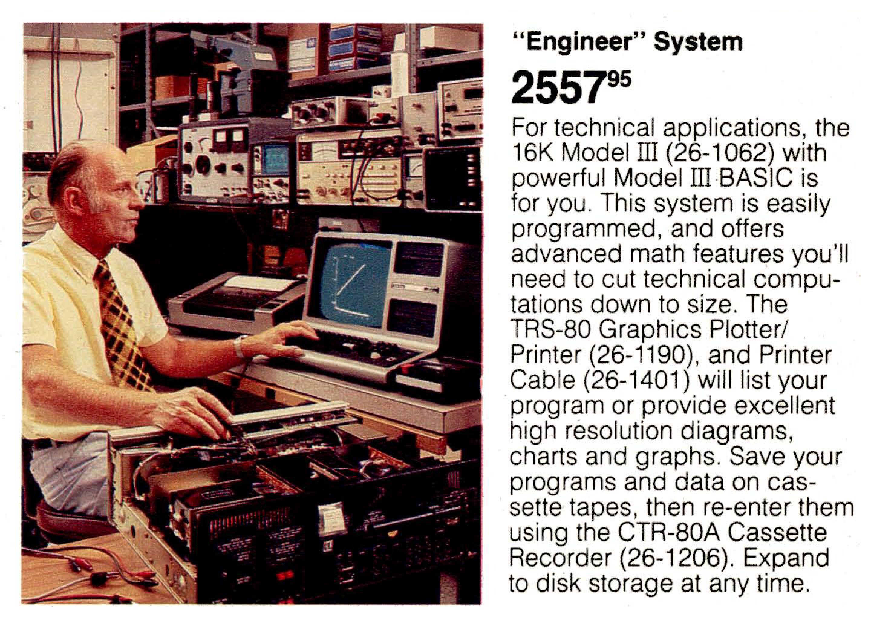 [Model III Engineer System]